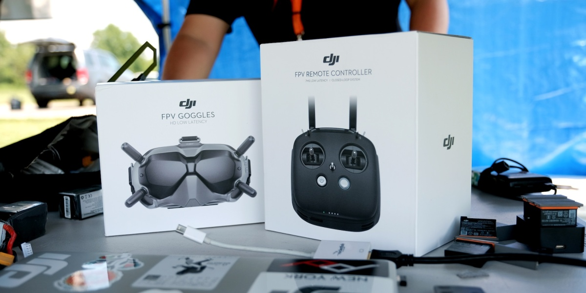 New DJI Digital FPV Transmission System with low latency and HD video for drone racing