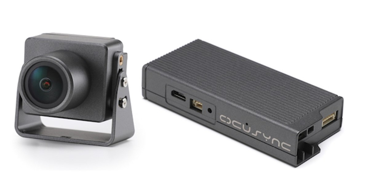 Ocusync air unit and camera