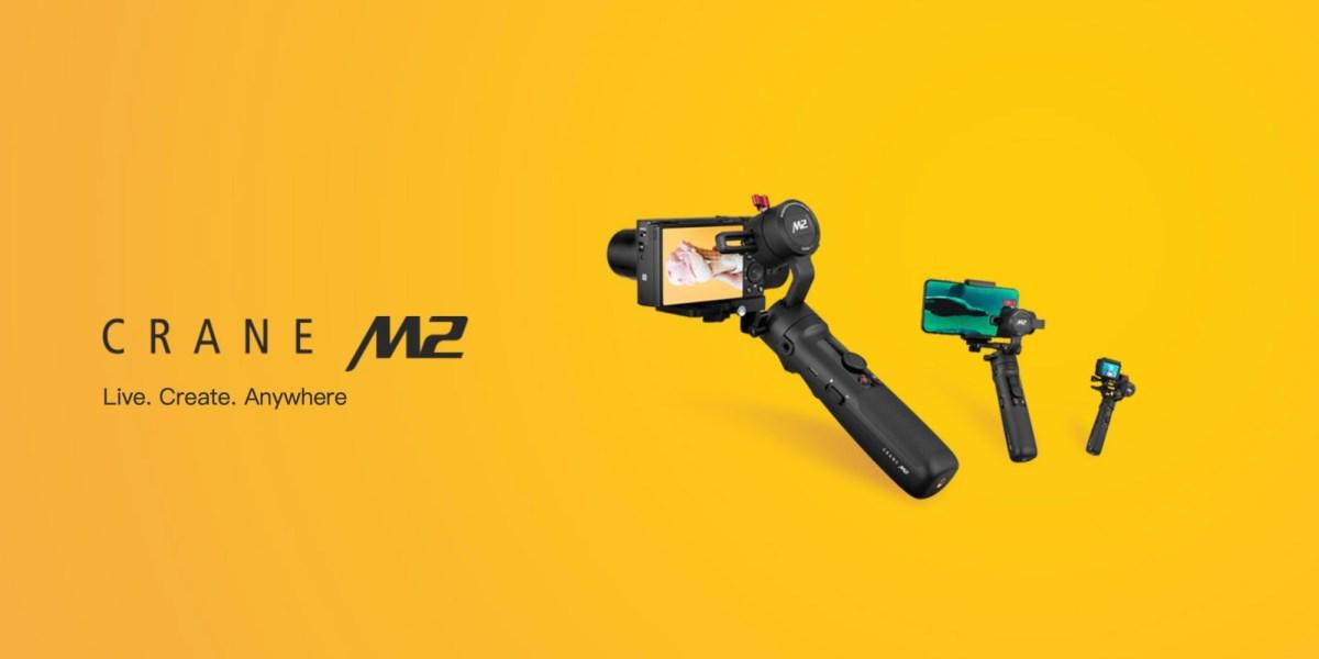 Zhiyun CRANE-M2, a new versatile and compact stabilizer