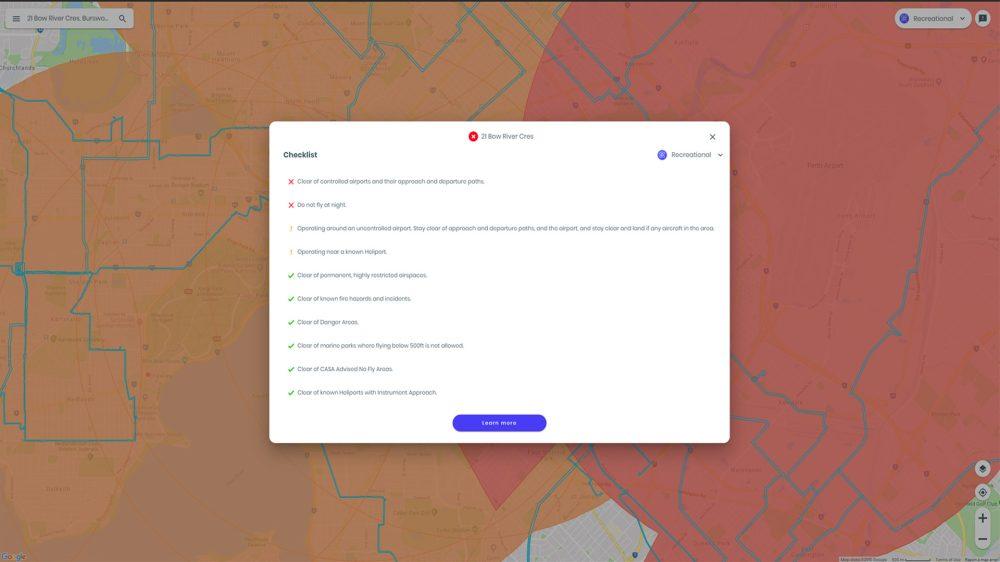 opensky drone checklist