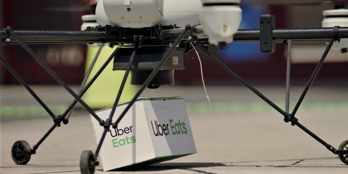 uber eats modalAI drone
