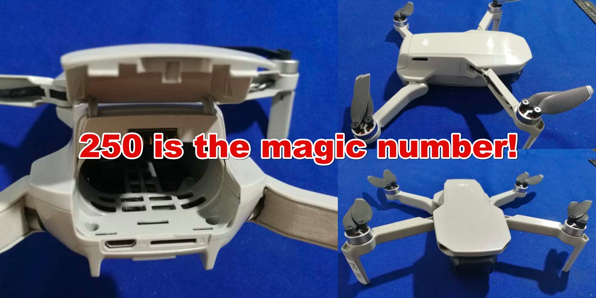 DJI Mavic Mini will dominate consumer drone market by weighing less than 250g