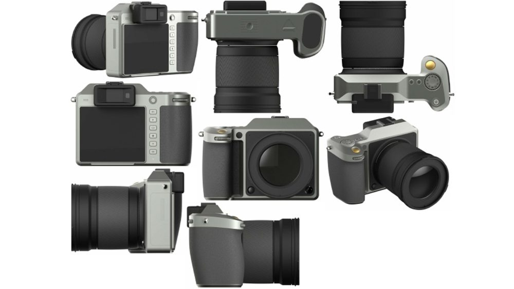 DJI mirrorless camera hassleblad rendering
