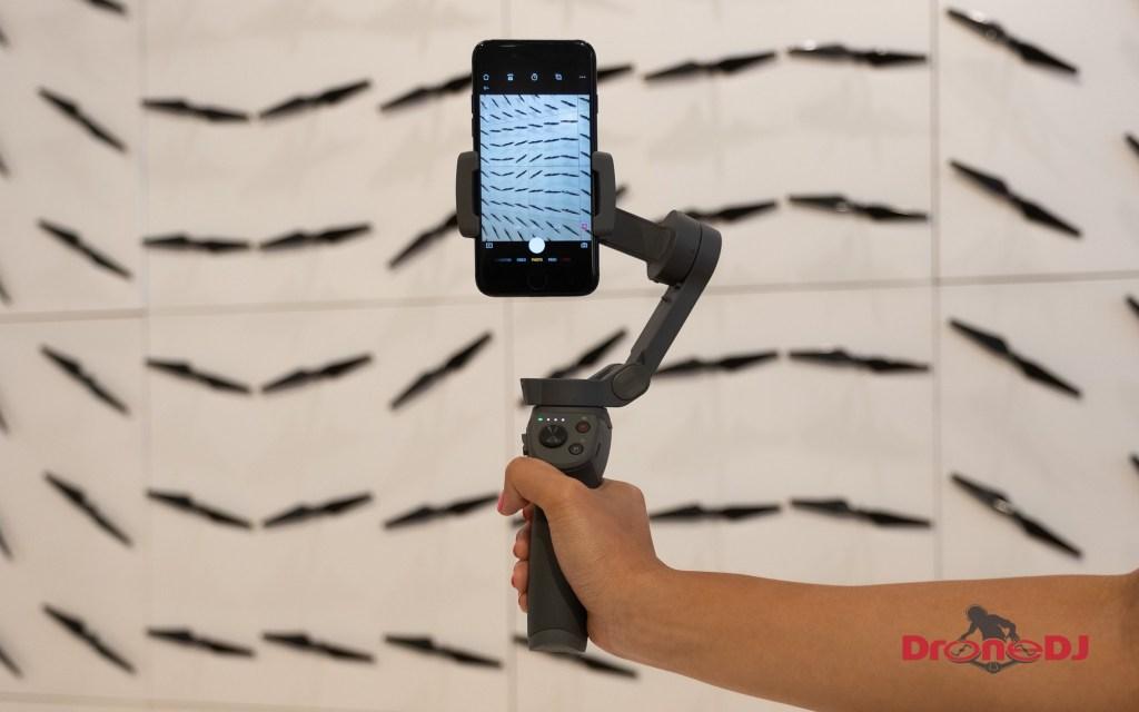 Folding DJI Osmo Mobile 3 ultimate instagram gimbal for iphone