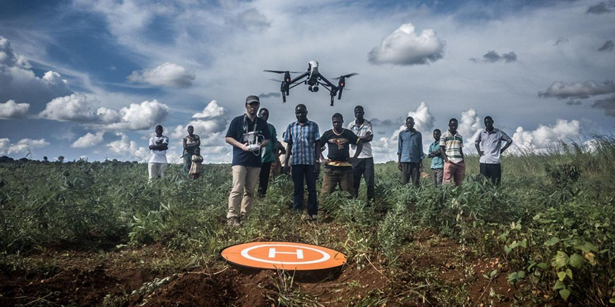 Drones increasingly used to save people's lives in Africa