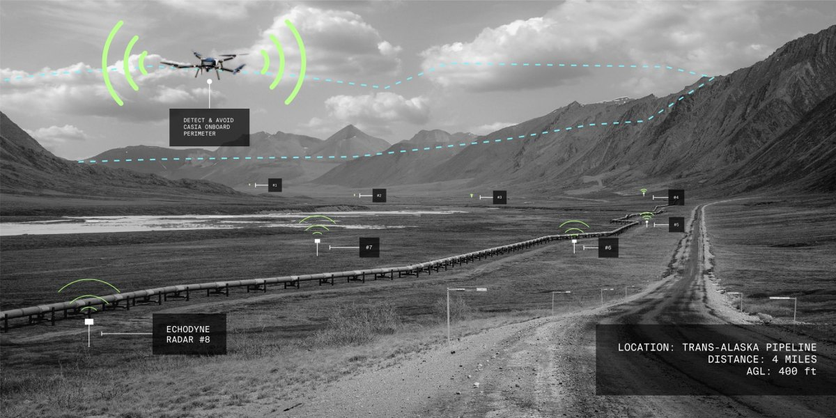 First-ever FAA-approved 'Beyond-Visual-Line-of-Sight' drone flight completed in Alaska