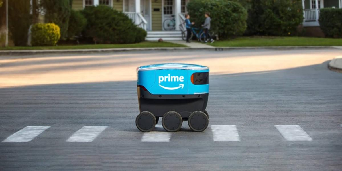 Meet the Amazon Scout, the six-wheeled, ground-based delivery robot that is making deliveries