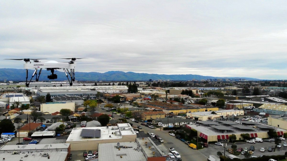 San Pablo police get three US-1 drones from Impossible Aerospace