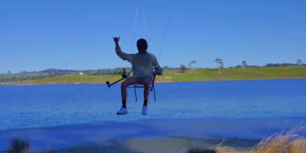 Aussie man takes drone fishing to new highs - CASA investigates