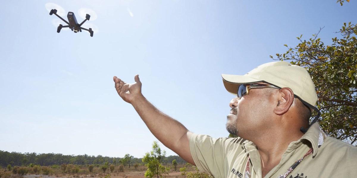 Aussie rangers drones sacred land
