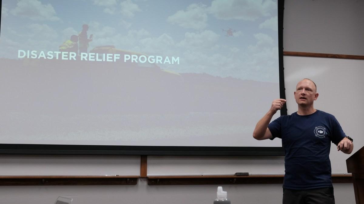 DJI Disaster Relief Program