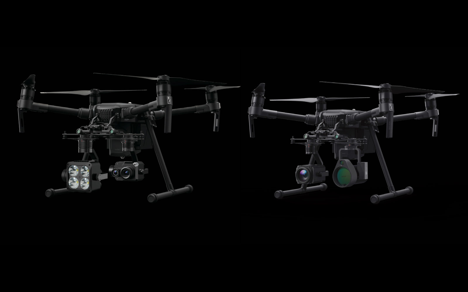 DJI announces methane gas detector and spotlight for Matrice drones