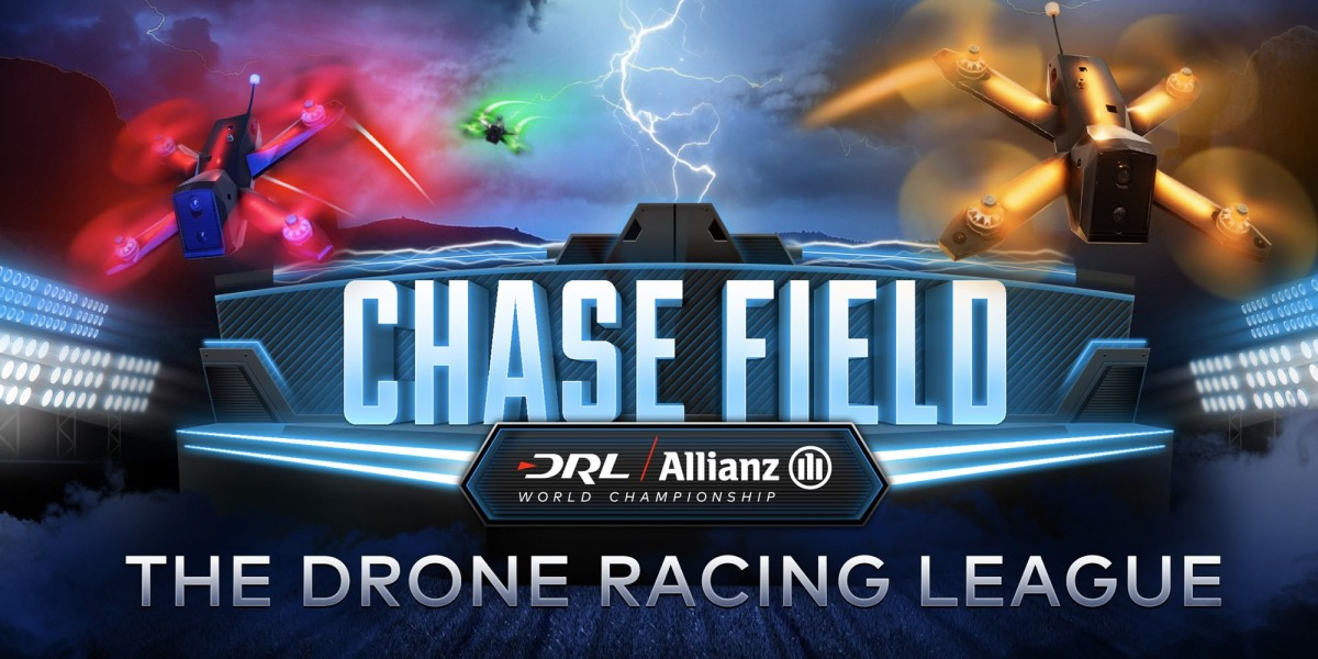 Drone Racing League live race