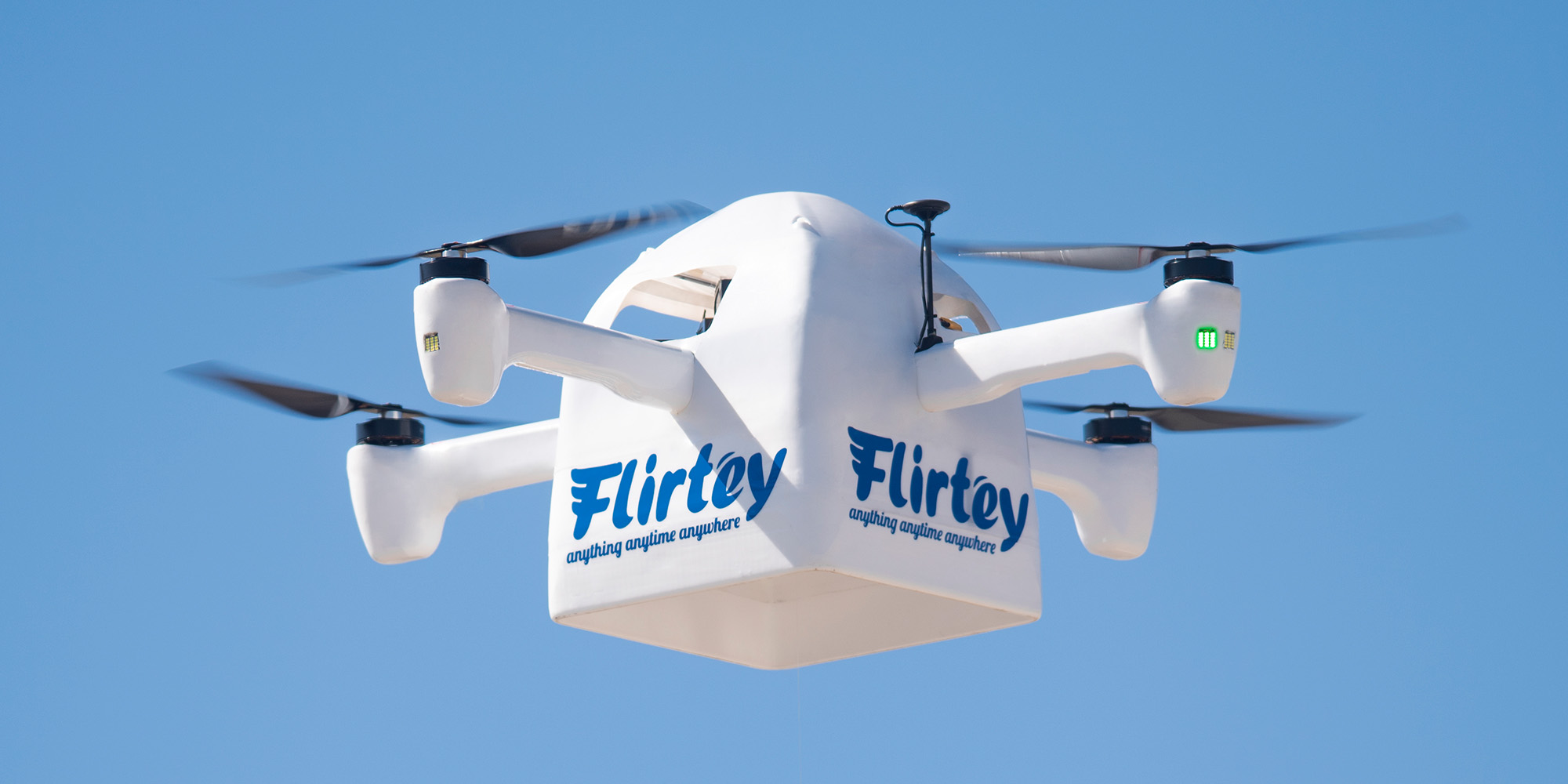 Flirtey releases its new Eagle delivery drone and ground station