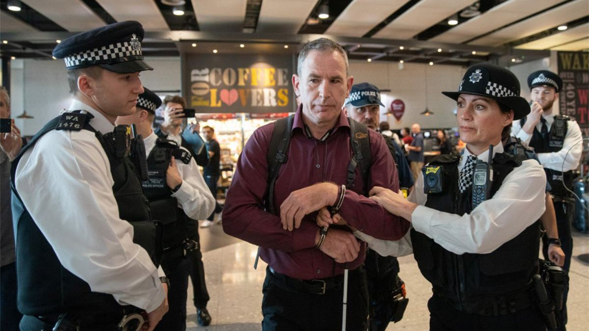Heathrow Pause protesters arrested and jamming technology used on drones
