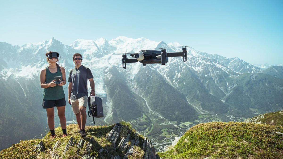 French drone maker Parrot launches ANAFI FPV
