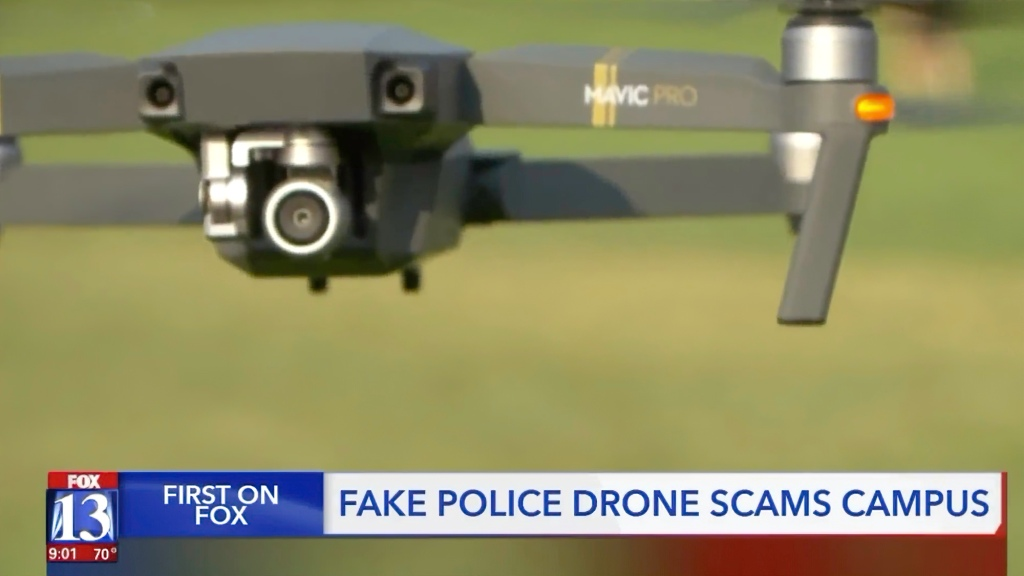 Drone impersonating Kaysville Police