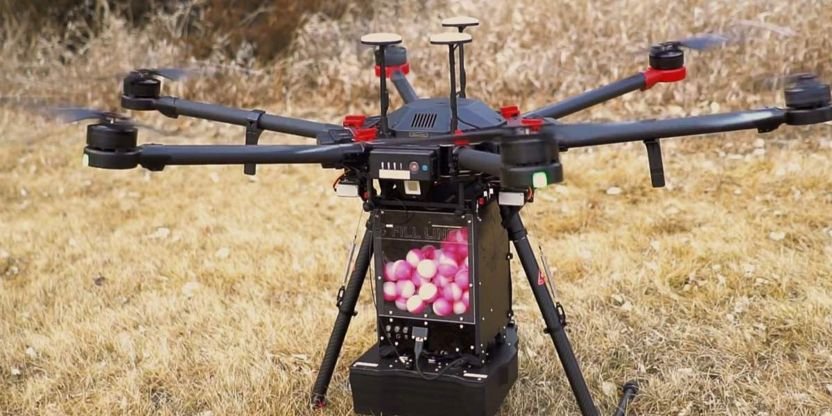 Self-igniting eggs dropped by 'dragon' drones can help save lives