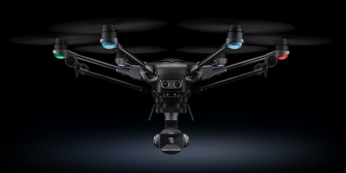 Yuneec and Leica partner to launch Typhoon H3 with ION L1 Pro camera