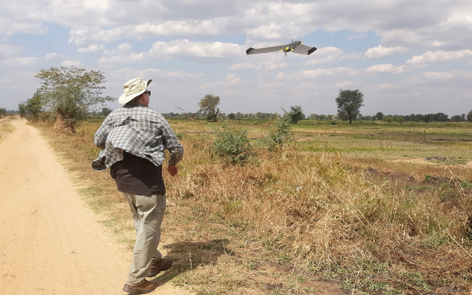 Anthropology professor uses drones to fight malaria in Africa