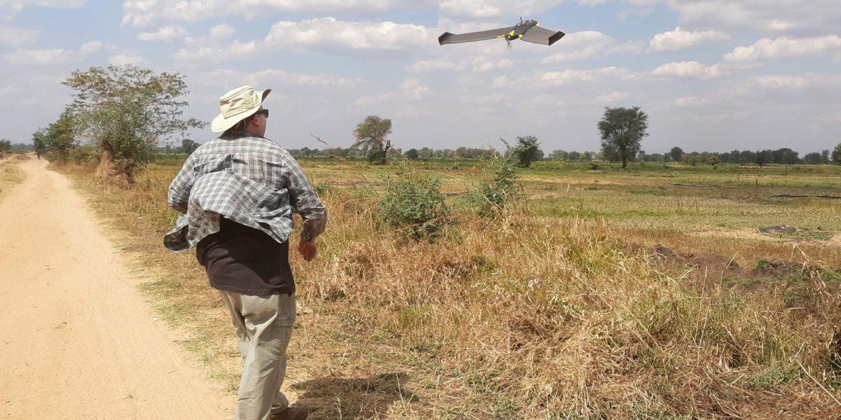 drones to fight malaria