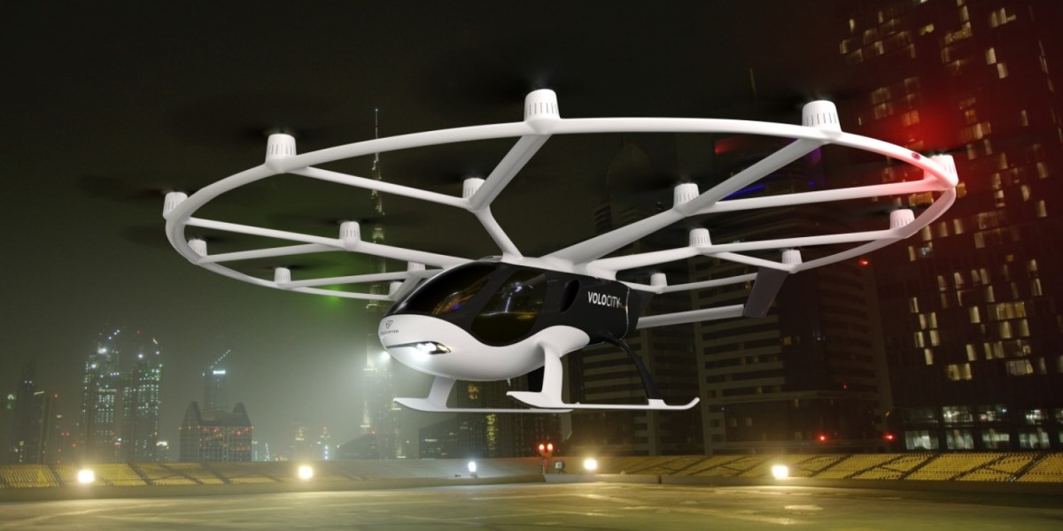 led by Volvo owner Geely, air-taxi Volocopter raises $55M