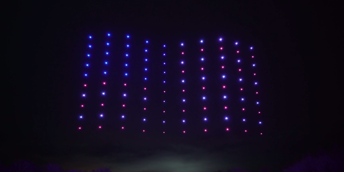 Check out these amazing drone light shows from Firefly