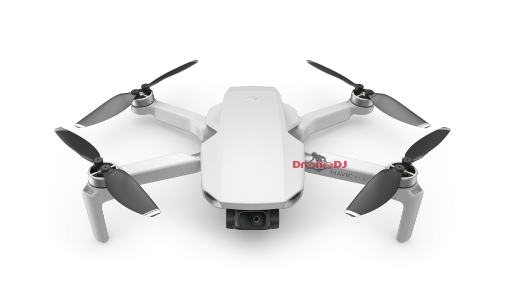 DJI Mavic Mini: new photos and updated specs for palm-sized drone
