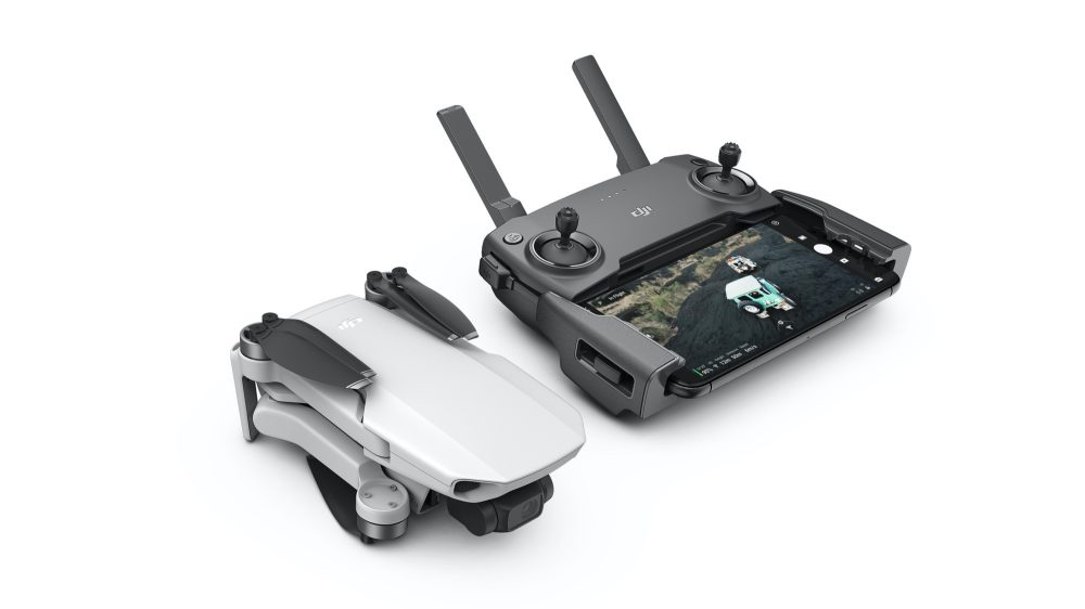 DJI's lightest and smallest foldable drone - mavic mini