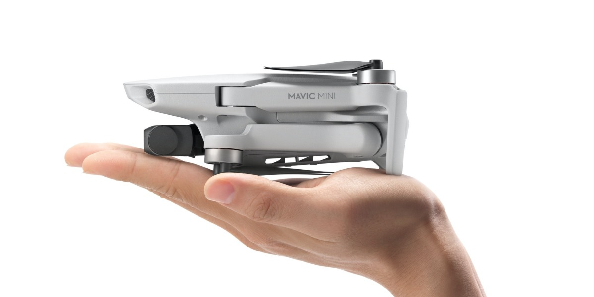 Take to the skies with Mavic Mini, DJI's lightest and smallest foldable drone