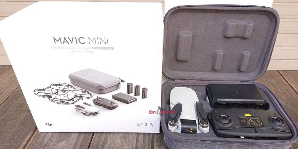 DJI Mavic Mini fly more box