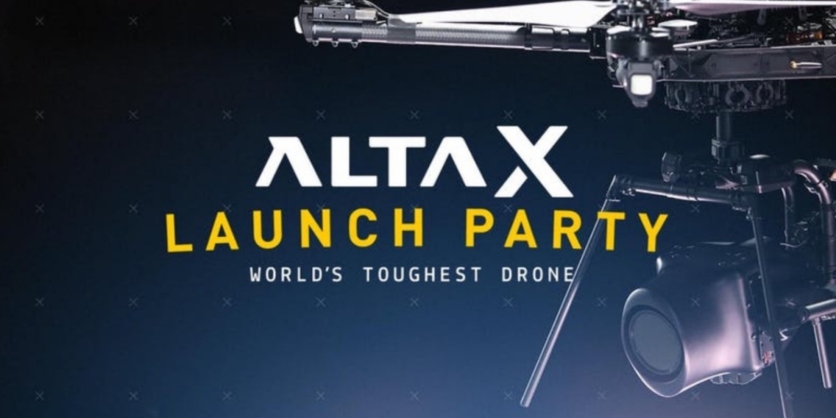launch of the Alta X drone
