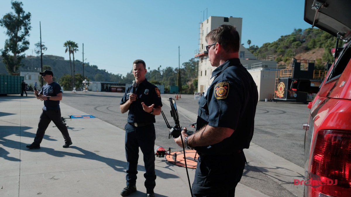 LA Fire Department plans to significantly increase its drone fleet