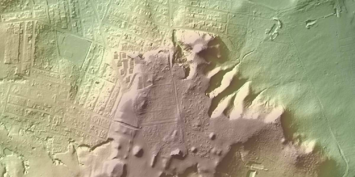 LIDAR equipped drones mexico ruins maya