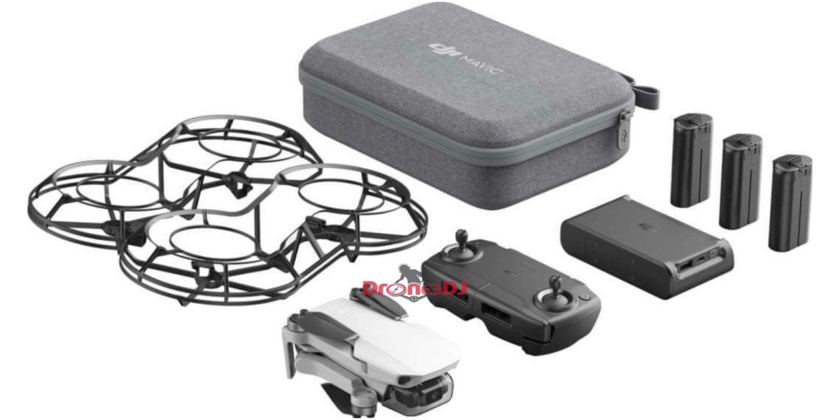 DJI Mavic Mini Fly More Combo adds extra batteries and prop guard