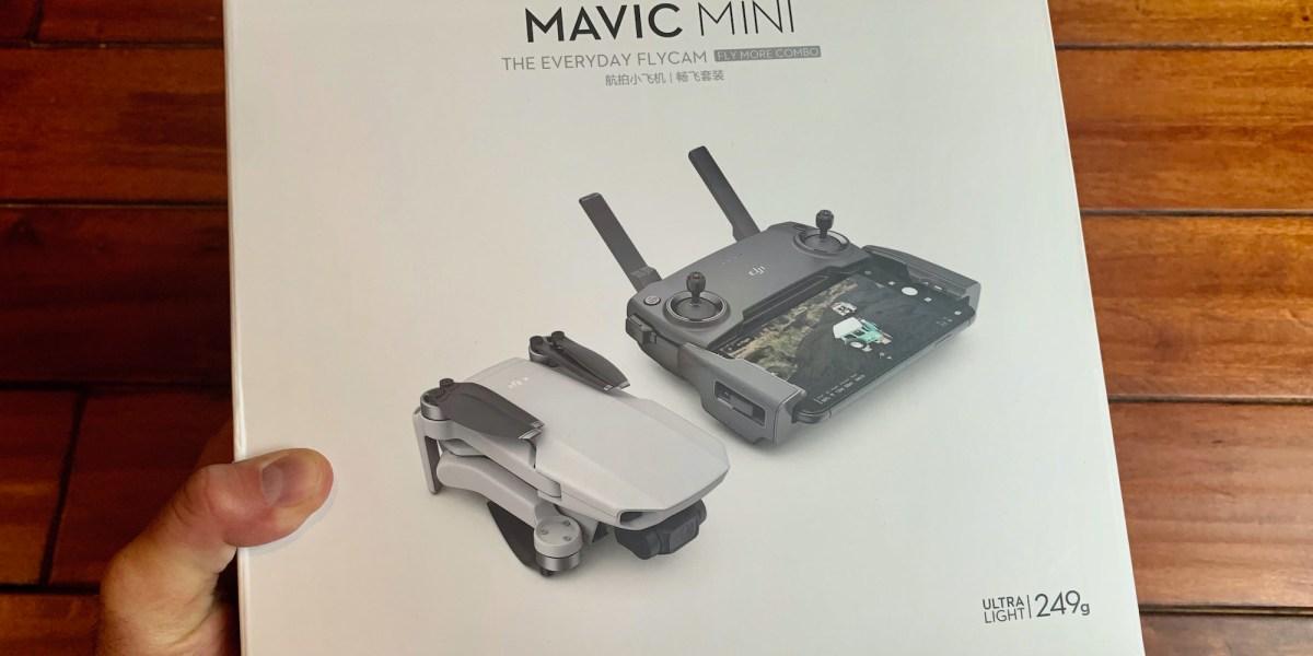 No 4K video on the DJI Mavic Mini!