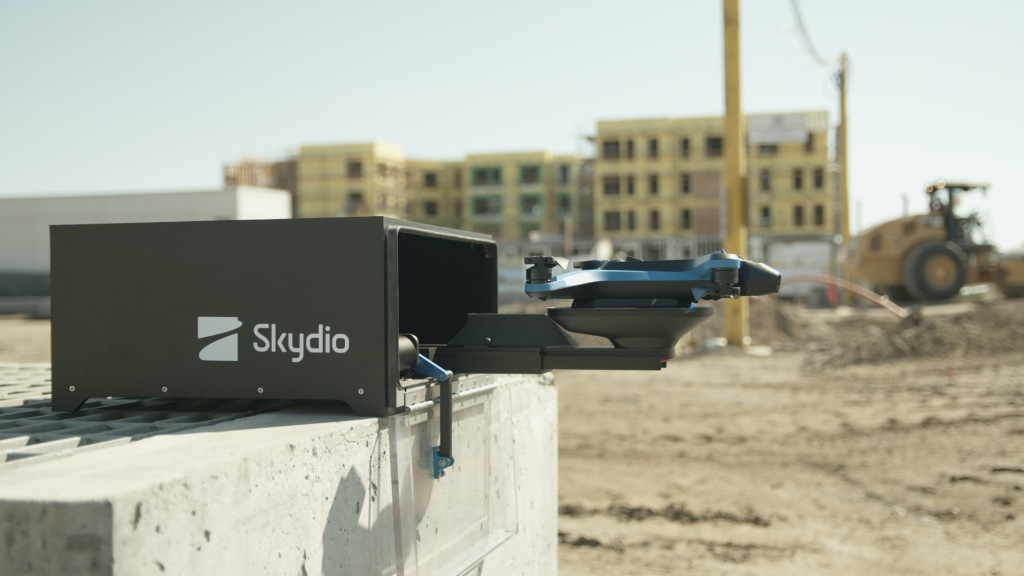Skydio enters the commercial drone market with the Skydio 2 Dock