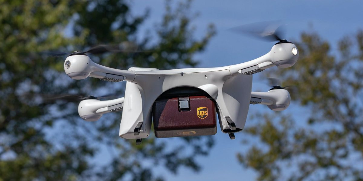 UPS and CVS partner to deliver prescriptions by drone