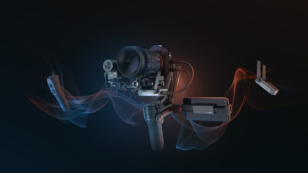 This new gimbal offers ultra-low latency image transmission in 1080p with an all-new TransMount Image Transmission Module.