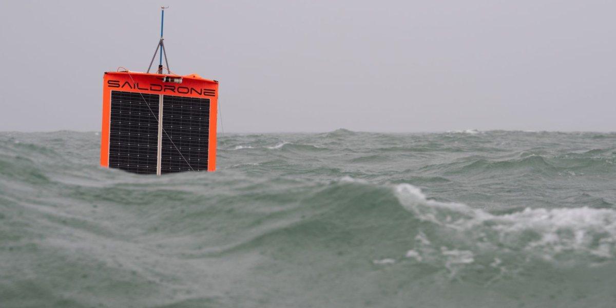 Autonomous SailDrones are the new ocean explorers