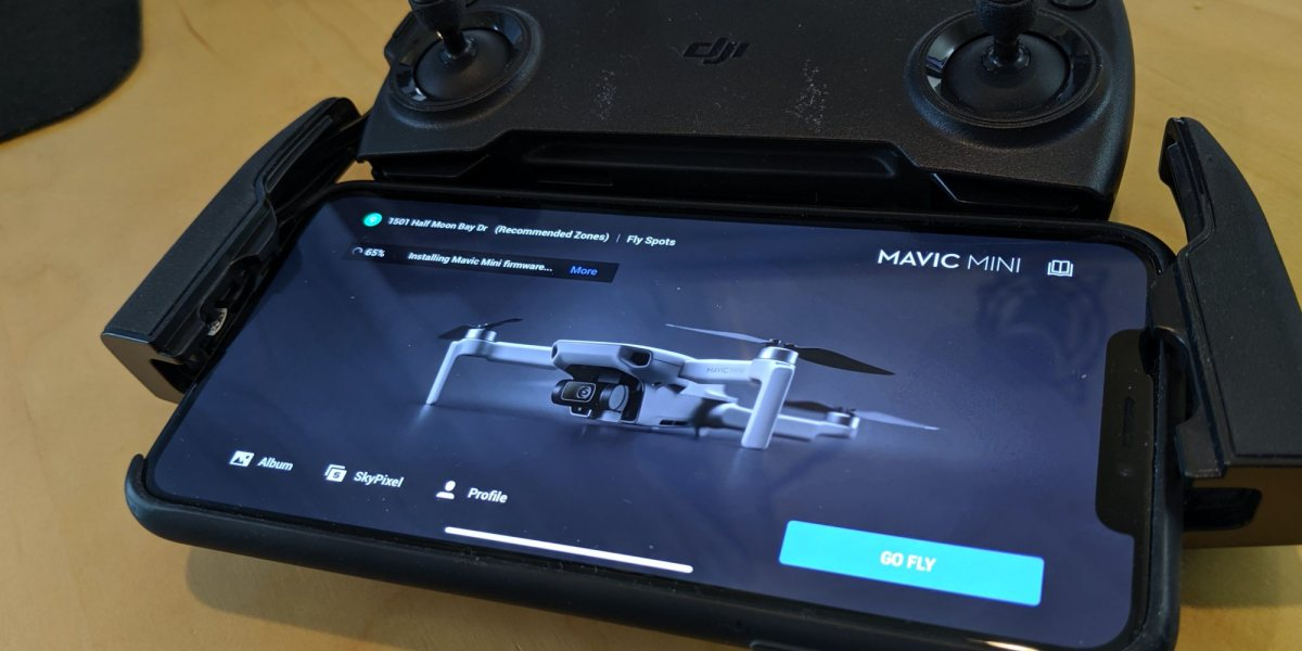 Before you fly the DJI Mavic Mini do this first - firmware update