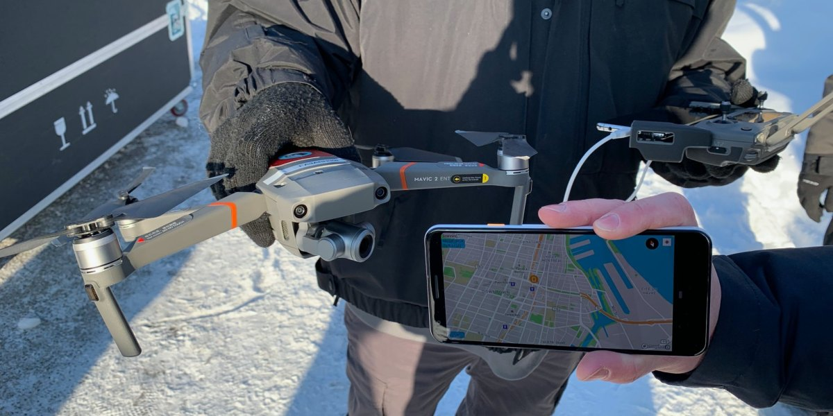 DJI demonstrates direct drone-to-phone Remote ID