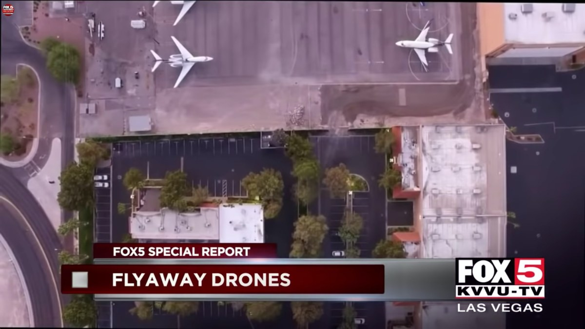 Drone pilot fined $20,000 after fly-away DJI Phantom 3 lands at McCarran Airport in Las Vegas