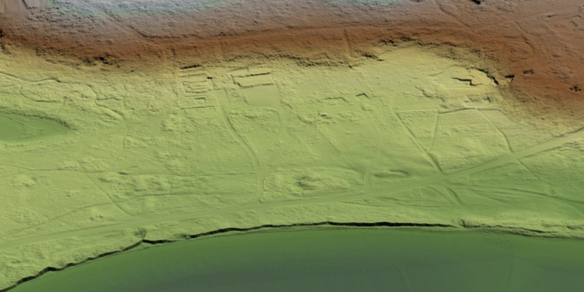 Drone with LiDAR reveals German SS concentration camp from WWII
