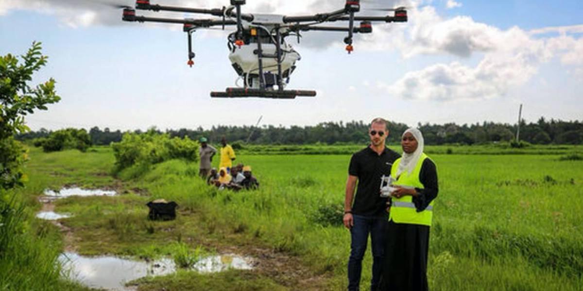 DJI Argas drone fights malaria in Zanzibar