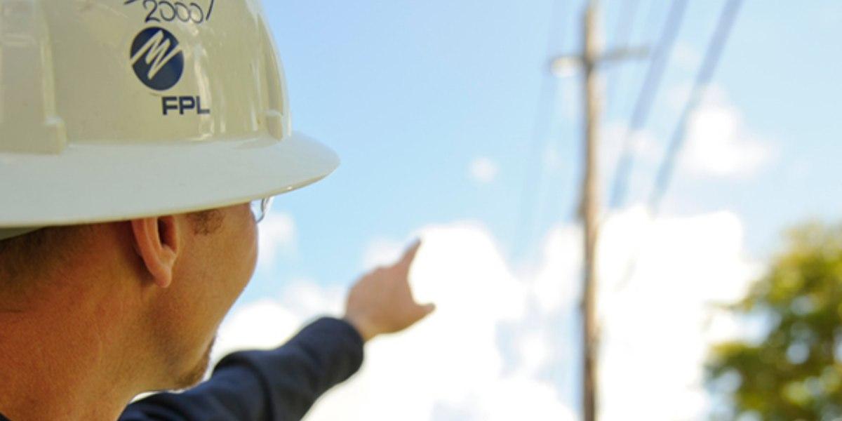 Florida Power and Light uses DJI Phantom 4 drone for powerline maintenance