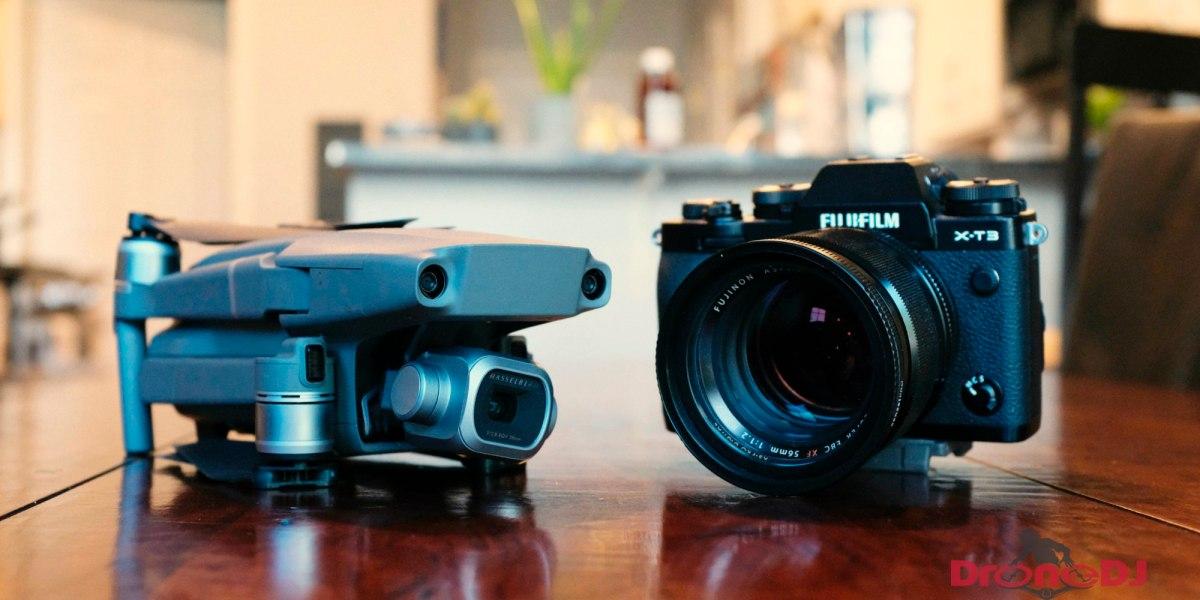 Fujifilm in talks with DJI to make Fuji X-T3 camera work with DJI drones