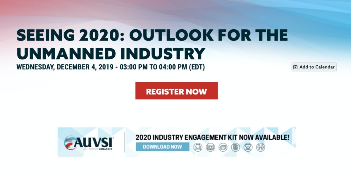 AUVSI webinar on unmanned systems industry outlook