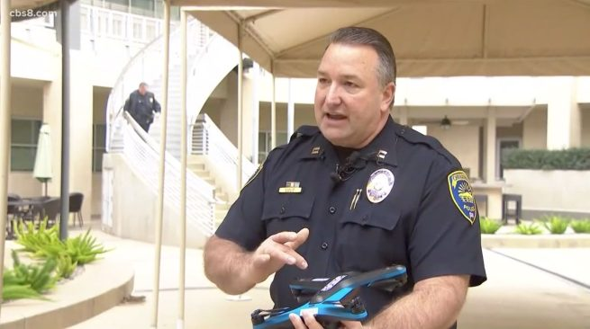 Chula Vista Police is the first in the world to use Skydio 2 drones