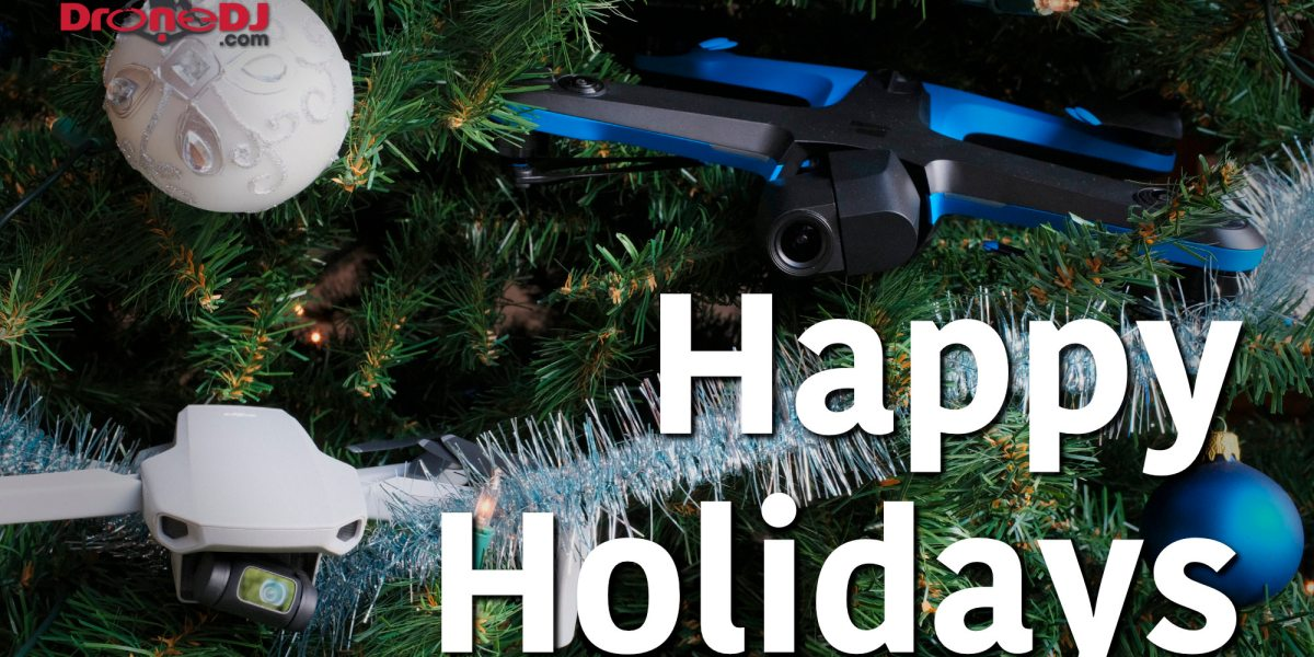 Happy holidays, best wishes and lots of drone flying in 2020 from the DroneDJ team to all our readers, viewers and listeners around the world.